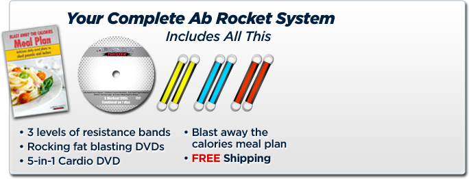 Your Complete Ab Rocket Twister System